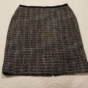 👍J Crew Tweed No2 Pencil Skirt